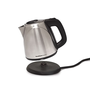Chef's Choice 1 Liter International Cordless Compact Electric Kettle, Brushed Stainless Steel