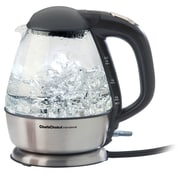 Chef's Choice 1.5 liter International Cordless Electric Kettle, Glass and Brushed Stainless Steel