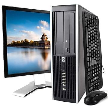 HP 8200 Refurbished Desktop Computer with 20  Monitor, Intel Core i5, 16GB Memory, 240GB SSD, Windows 10 Pro