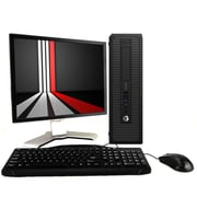 "HP Desktop Computer 800G1 Intel Core I5, 8GB, 240GB SSD, Windows 10 Pro, 20"" Monitor, Keyboard and Mouse, Wifi, Refurbished"