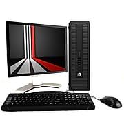 "HP 800G1 Refurbished Desktop Computer with 20"" Monitor, Intel Core i5, 16GB Memory, 2TB HDD, Windows 10 Pro"