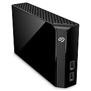 Seagate Backup Plus Hub 10TB External Hard Drive Desktop HDD USB 3.0 with 2 USB Ports, Black (STEL10000100)