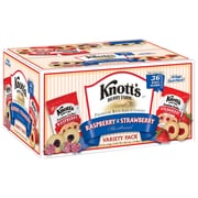 Knott's Berry Farm Raspberry and Strawberry Variety Club Pack, 36 Count (BIS59638)