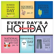 """2019 TF Publishing 5.5"""" X 5.5"""" Every Day's A Holiday Daily Desk Calendar (19-3114)"""