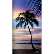 """2019-2020 TF Publishing 3.5"""" X 6.5"""" Tropical Beaches 2-Year Pocket Planner  (19-7097)"""