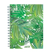"TF Publishing 2019 Leaves Medium Weekly/Monthly Planner, 6.25"" x 8"" (19-9220)"