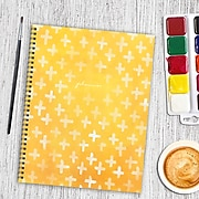 """2019-2020 TF Publishing 8.75"""" X 11"""" Watercolor Open Dated Planner (99-9511)"""