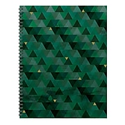 """TF Publishing 8.75"""" X 11"""" Emerald Open Dated Planner (99-9512)"""