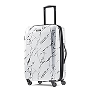 """American Tourister Moonlight 24"""" Spinner Luggage, Marble (92505-T555)"""