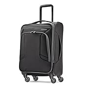 "American Tourister 4 KIX 21"" Spinner Luggage, Black/Grey (92450-1062)"