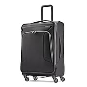 "American Tourister 4 KIX 25"" Spinner Luggage, Black/Grey (92452-1062)"
