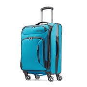 "American Tourister Zoom 21"" Spinner Luggage, Teal Blue (92406-1855)"