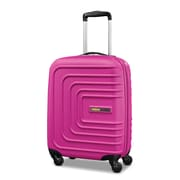 "American Tourister Sunset Cruise 20"" Spinner Luggage, Pink Berry (88331-4419)"