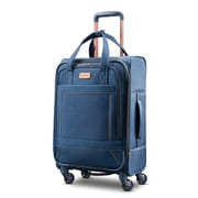 "American Tourister Belle Voyage 21"" Spinner Luggage, Printed Blue Denim (92427-1094)"