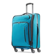 "American Tourister Zoom 25"" Spinner Luggage, Teal Blue (92410-1855)"