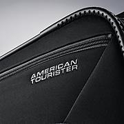 American Tourister 4 KIX Rolling Tote, Black/Grey (92457-1062)