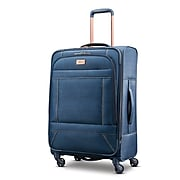 "American Tourister Belle Voyage 25"" Spinner Luggage, Printed Blue Denim (92428-1094)"