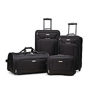 American Tourister Fieldbrook XLT 4-Piece Set, Black (92288-1041)