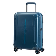 "American Tourister Technum 20"" Spinner Luggage, Metallic Blue (92409-1541)"