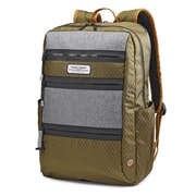 American Tourister Straightshooter Backpack, Olive/Black/Grey (106729-2125)