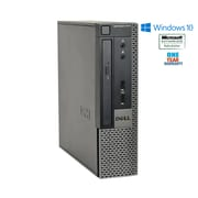 Dell Optiplex 7010 USFF Intel Core i5-3470 3.2GHz 8GB Ram 240GB Solid State Hard Drive Windows 10 Pro, Refurbished