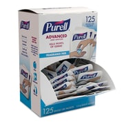 PURELL® Advanced Hand Sanitizer Singles,125/Pack