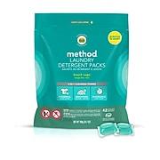 Method Laundry Detergent Packs, Beach Sage, 42 Count (01871)