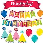 Just Teach Happy Birthday Mini Bulletin Board Set (110397)