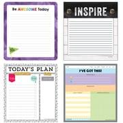 Inspirational Notepad Variety Set, 4/Pack, (145109)
