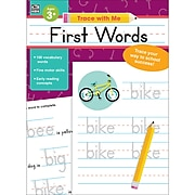 First Words (Trace with Me), Paperback, Ages 3+ (705219)