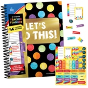 "Celebrate Learning Plan Book and Planner Accent Sticker Set, ""Let's Do This,"" Paperback (145110)"