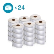 DYMO 2050830 LW Multi-Purpose Labels, 1-Inch x 2 1/8-Inch, Self-Adhesive, White, 24 Rolls of 500
