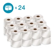 DYMO 2050817 LW Shipping Labels, 2 1/8-Inch x 4-Inch, Self-Adhesive, White, 24 Rolls of 220