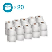 DYMO 2050829 LW Extra-Large Shipping Labels, 4-Inch x 6-Inch, Self-Adhesive, White, 20 Rolls of 220