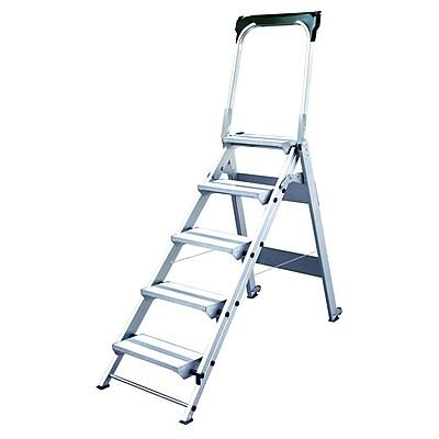 Xtend+Climb® 5.7' Aluminum StableStep WT5 Step Stool