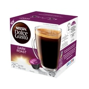 Nescafe® Dolce Gusto® Dark Roast Coffee, 16 Capsules/Box (NES77317)