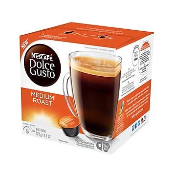 Nescafe® Dolce Gusto® Medium Roast Coffee, 16 Capsules/Box (NES77319)