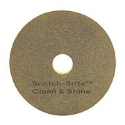 "Scotch-Brite™ Clean & Shine 13"" Pad, 5/Carton (09549)"