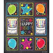 Schoolgirl Style Stars Birthday Prize Pack Stickers, 216/Pack (168266)