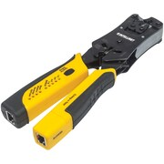 Universal Modular Plug Crimping Tool & Cable Tester Intellinet Network Solutions® 780124