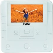 """Naxa® Multifunction Media Recorder and Converter with 4.3""""LCD Screen, White (NTM-1100)"""