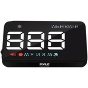 "Pyle® Vehicle Speed & GPS Compass 3.5"" Multicolor LED Monitor System Heads-Up Display (PYLPHUD12)"