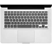SumacLife Keyboard Cover Protector Silicone Skin for MacBook Pro 13 inch MacBook Air, Clear (NBKKYB301)