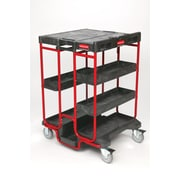 Rubbermaid Ladder Steel Service Cart (FG9T5700BLA)