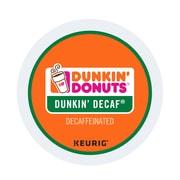 Dunkin' Donuts Decaf Keurig Single-Serve K-Cup Pods, Medium Roast Coffee, 44 Count