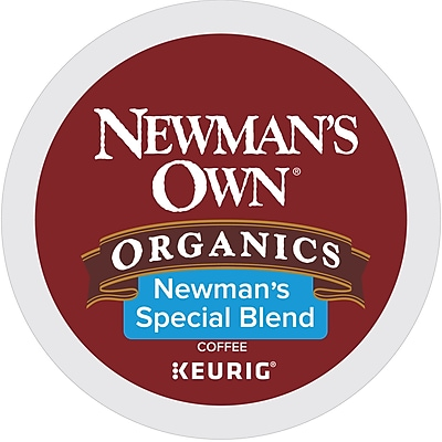 Keurig Newman's Own Organics Special Blend Keurig K-Cup Pods, Medium Roast Coffee, 48 Count (373293)