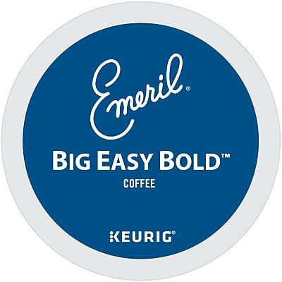 Keurig Emerils Big Easy Bold Keurig K-Cup Pods, Dark Roast Coffee, 48 Count (373309)