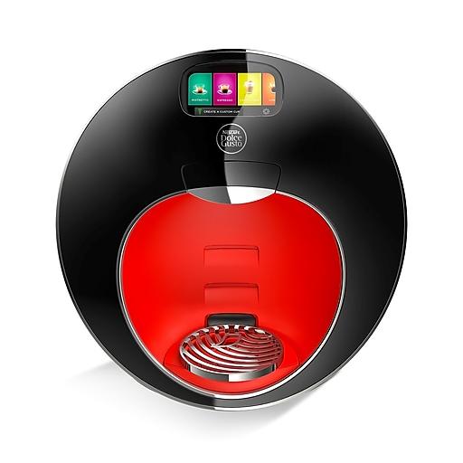 Nescafe Dolce Gusto Majesto Automatic Capsule Coffee Machine, Black (NES98836)