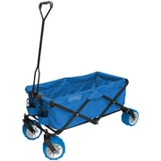 Creative Outdoor Distributor™ All-Terrain Folding Wagon, Cool Blue (900179)