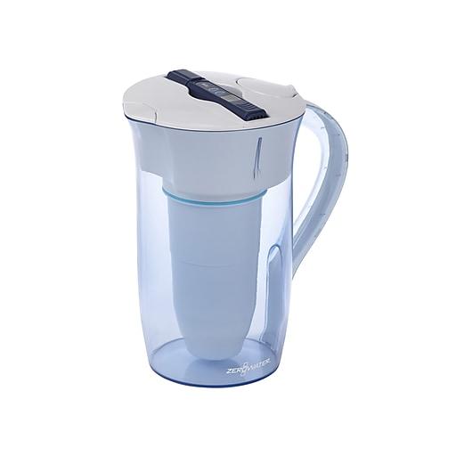 zerowater 10 cup water filter dispenser zr 0810 4 staples. Black Bedroom Furniture Sets. Home Design Ideas